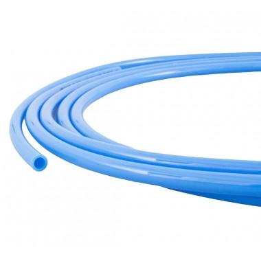 Przewód pneumatyczny prosty 14mm PU 14 x 10 A100 - niebieski
