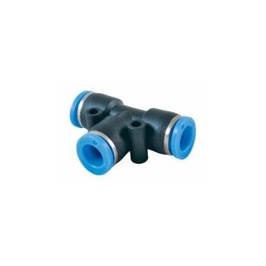 Trójnik wtykowy redukcyjny T 12-6-12 mm RQST12060