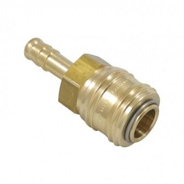 Szybkozłącze z tuleją do węża 10mm - Rectus, 26KATF10MPX