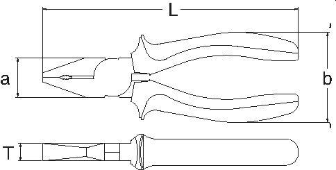 Szczypce izolowane Rectus